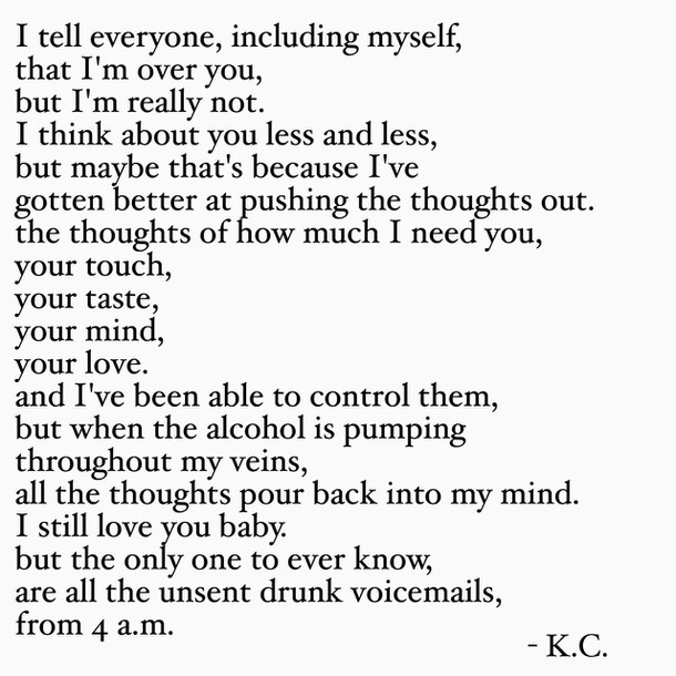 breakup poems breakup drunk he break love image 3767091 by