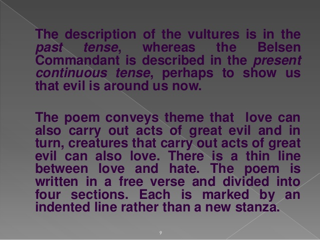 poem analysis continuum Being sleepless is not an excuse for writing a poem sleeplessness does not necessarily allow one to ruminate over a subject, or subjective thoughts.