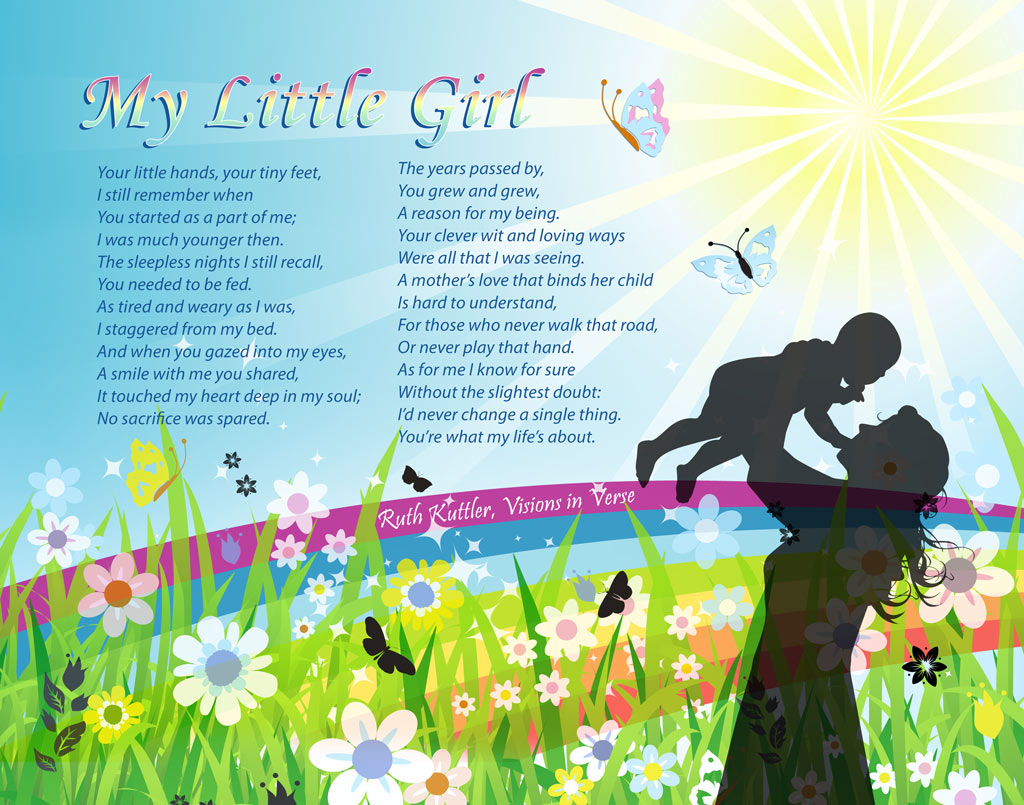 Mother Daughter Love Quotes Inspirational Daughter Poems Poems