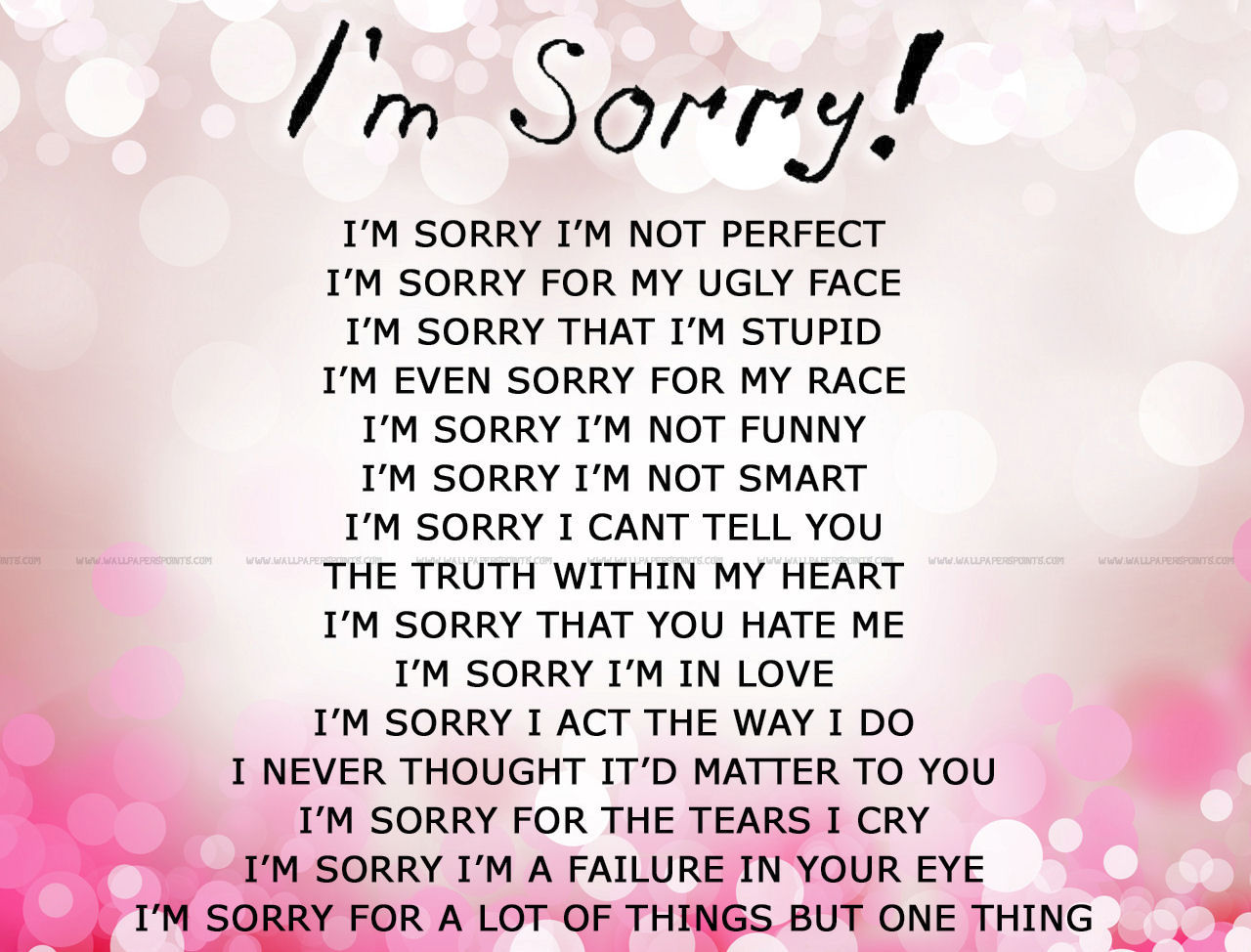 Perfect Love Quotes For Her Im Sorry Love Poems Poems