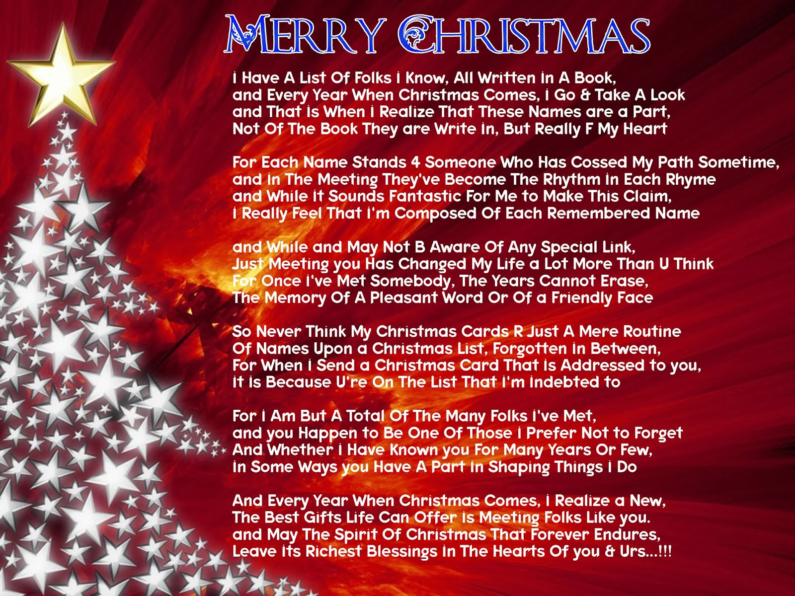 Christmas Quotes About Friendship Merry Christmas Friendship Poems