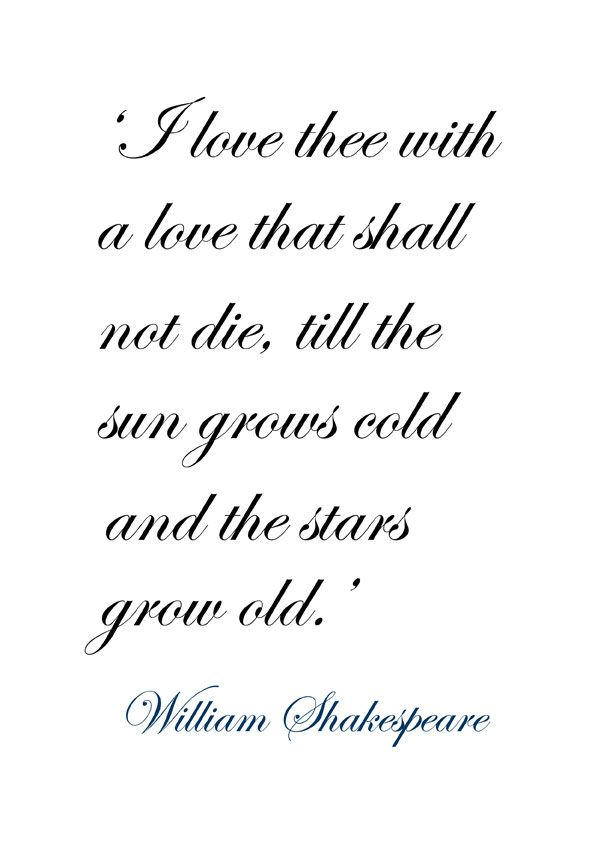 Shakespeare Love Quotes Enchanting Shakespeare Love Poems