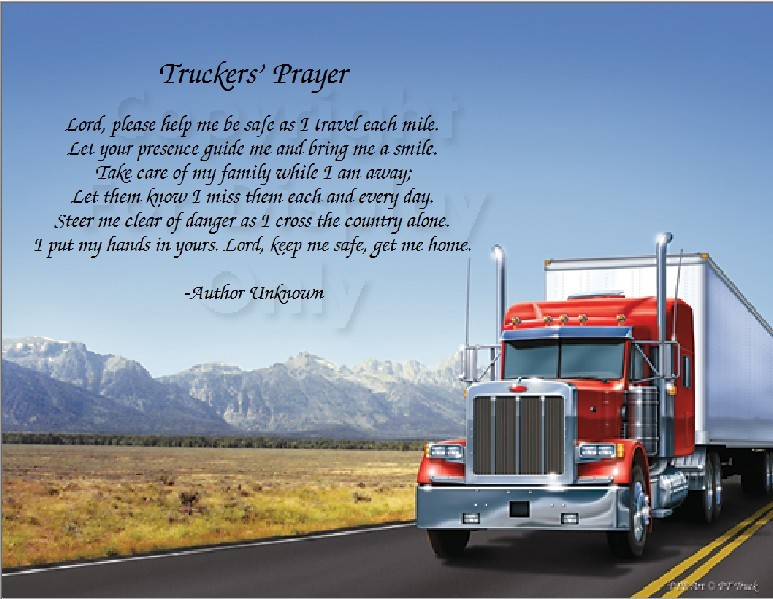 Truck Drivers, Thank You - Drive My Way