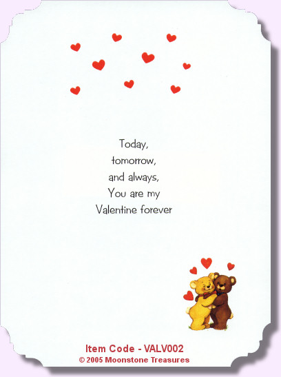 valentines card poems poems, Ideas
