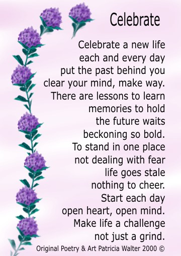 Celebrate Life Quotes Custom Celebration Of Life Poems