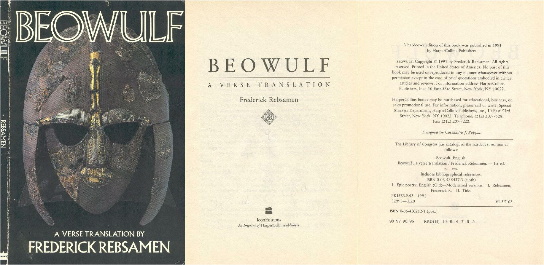 beowulf poem review The following is a review of the digital 3d version showing at select theaters: short answer: if you love the old anglo-saxon poem beowulf, do not see this movie.