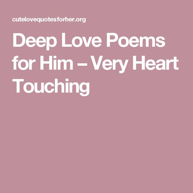 Deepest love Poems Poems