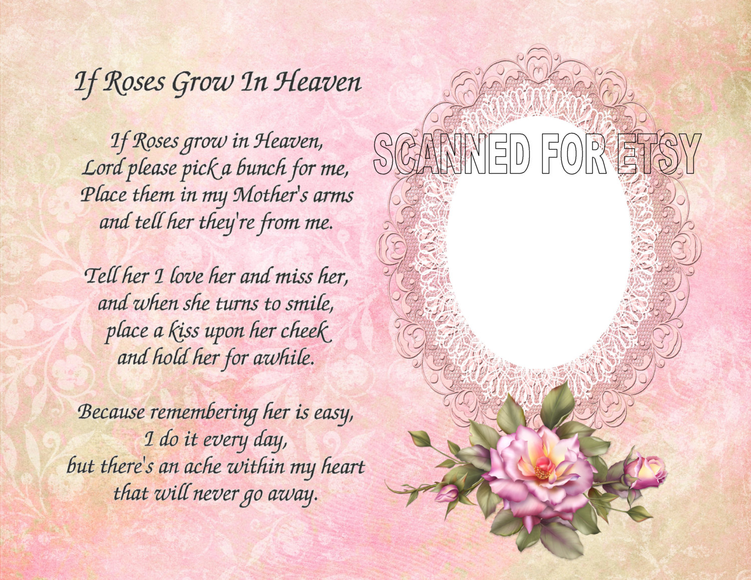 Missing My Mom In Heaven Quotes Mom Memory Poems Poems