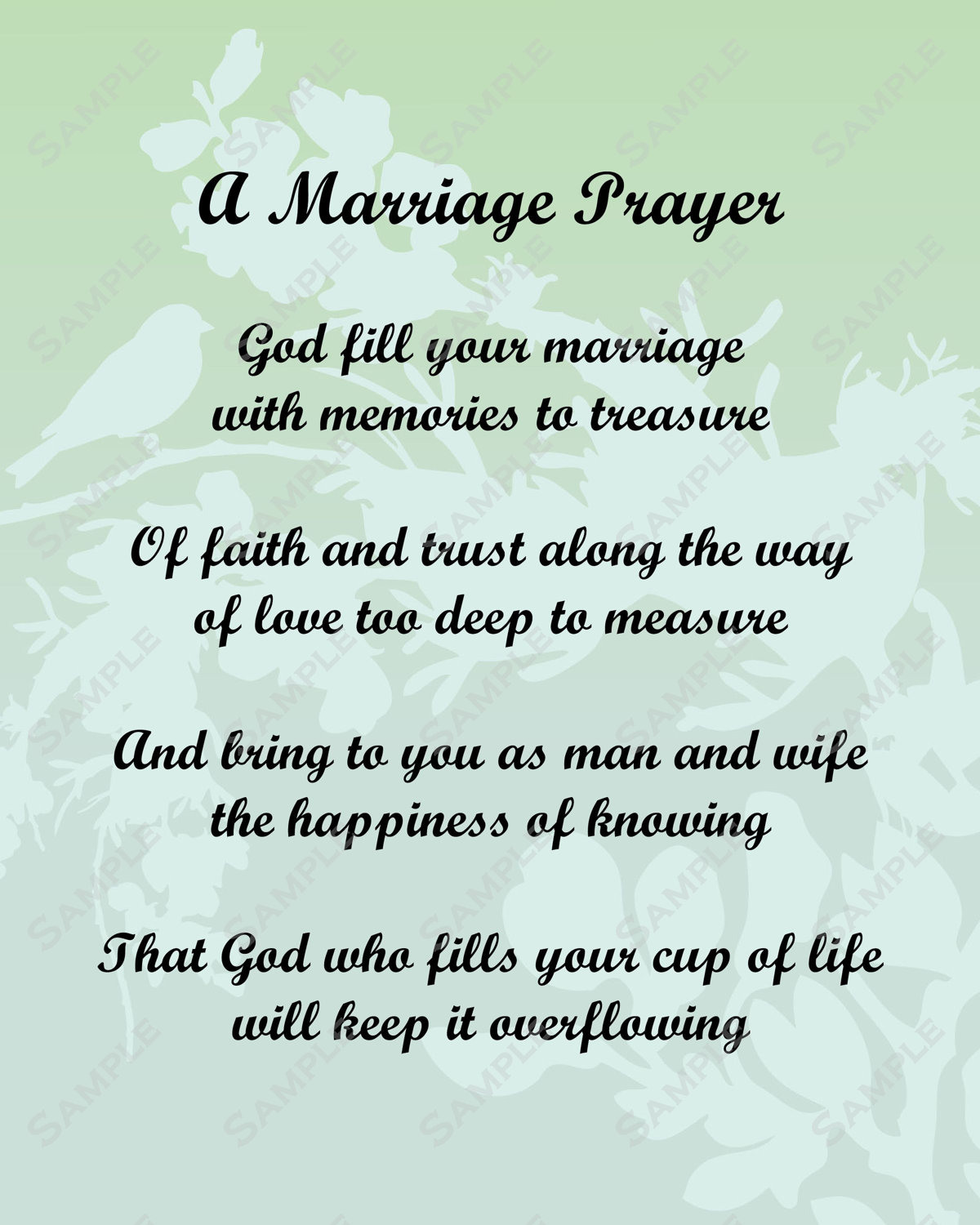 Christian Marriage Quotes Christian Wedding Poems Poems