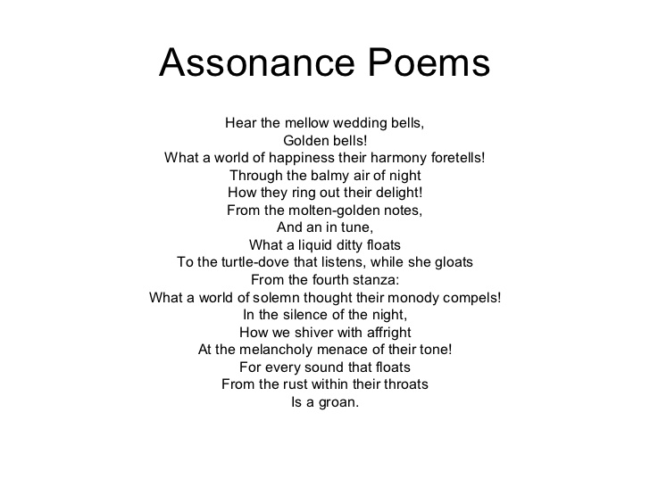 Assonance Poems