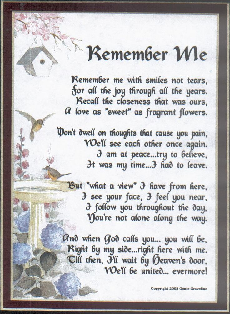 Quotes About Death Of A Loved One Remembered Enchanting Memory Death Poems Poems