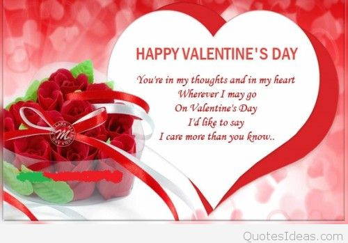Best Happy Valentineu0027s Day Cards, Messages And, S 2016