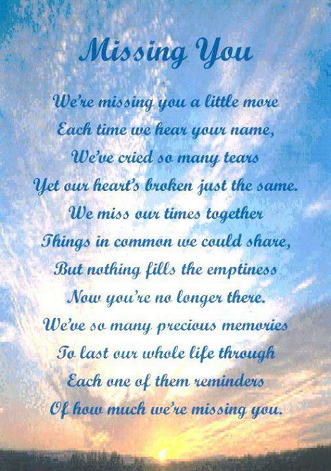 Memories Of A Loved One Quotes Magnificent In Memory Poems