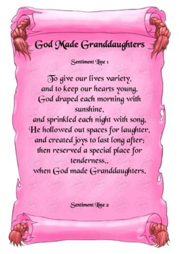 Grandma and granddaughter Poems