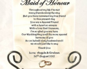 Maid Of Honor Toast Quotes Quotesgram
