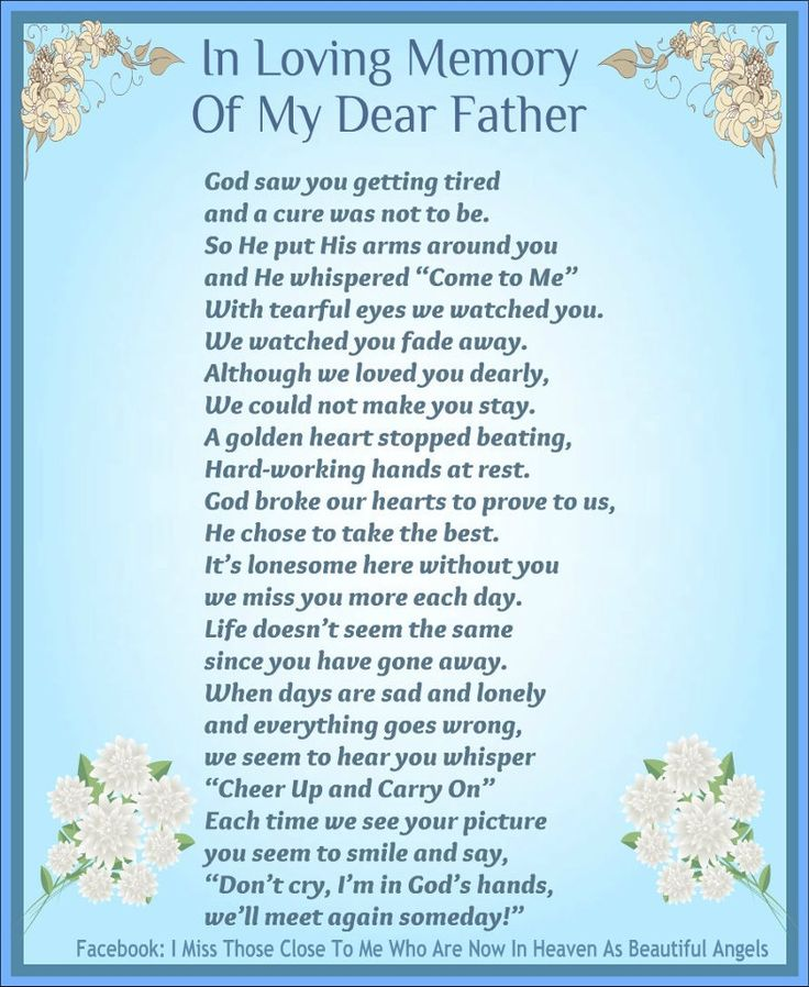 Missing my daddy that much 4