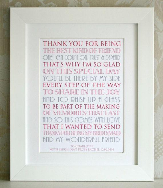 thank you for asking me to be your bridesmaid poems midway media