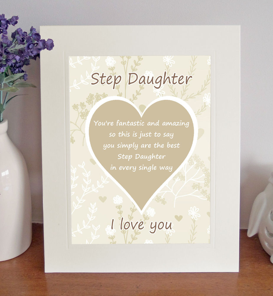 Step daughter Poems