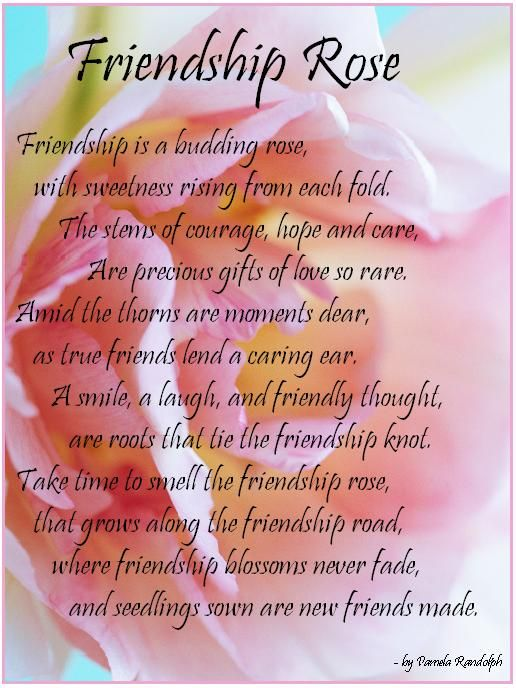 Inspirational friendship Poems Poems