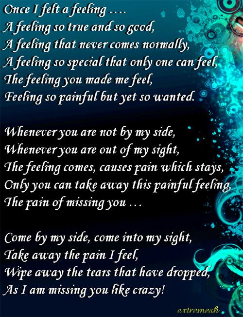 Missing You Poems For Him In Jail