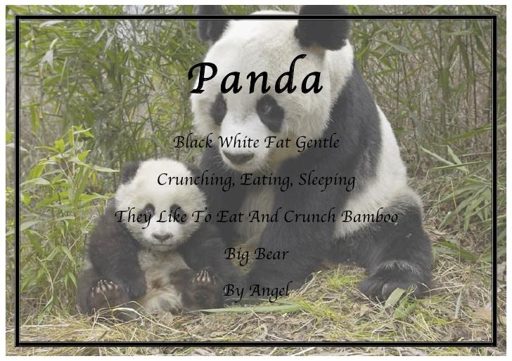 Short Animal Poems For Kids