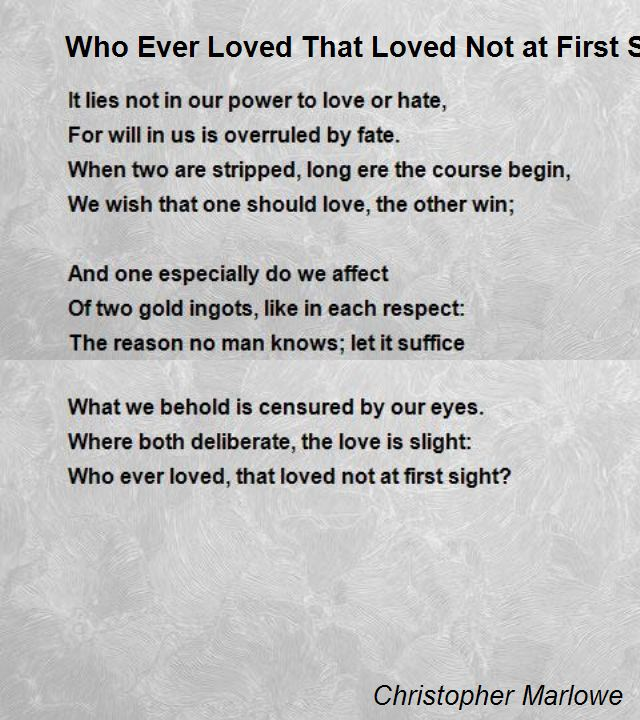 Original Love Poems