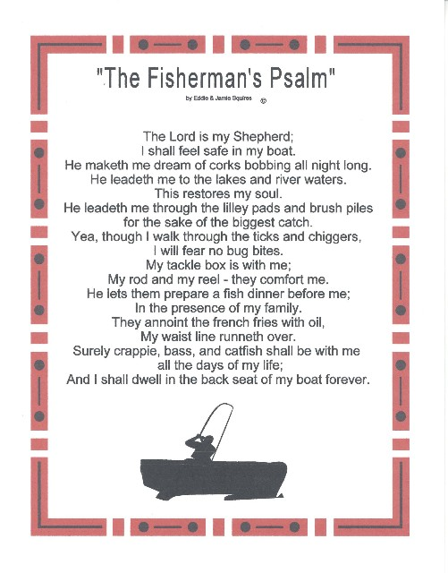 Fisherman poems poems for Poems about fishing in heaven