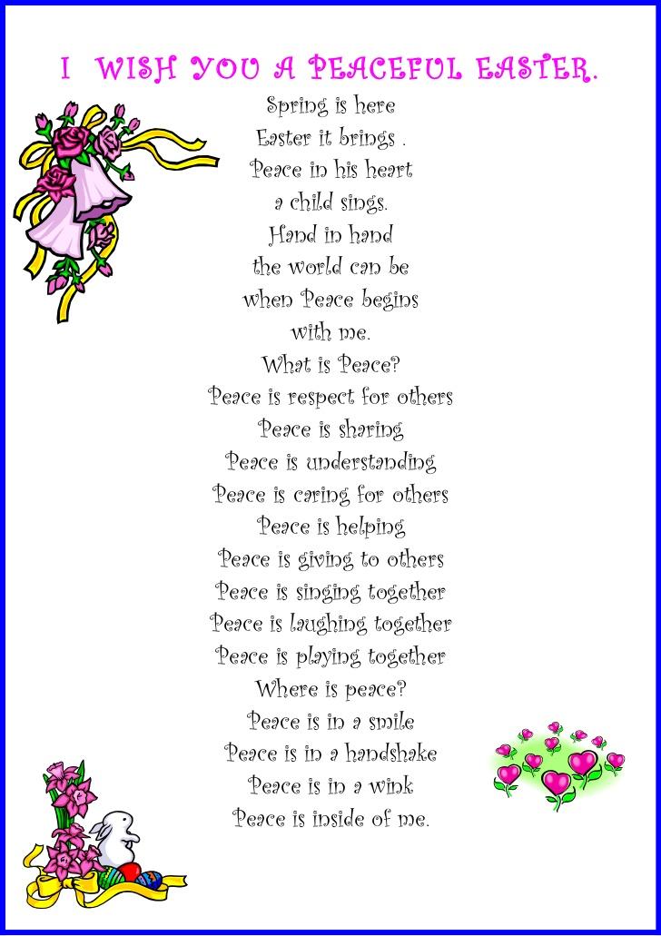 Inspirational Easter Poems
