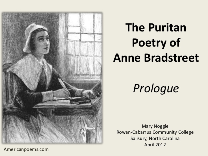 """anne bradstreet the author to her book essay View essay - bradstreet essaypdf from engl 288898 at penn state a baffled author """"the author to her book"""" by anne bradstreet is."""