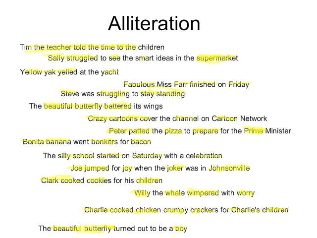 alliteration poem template - examples alliteration poems poems