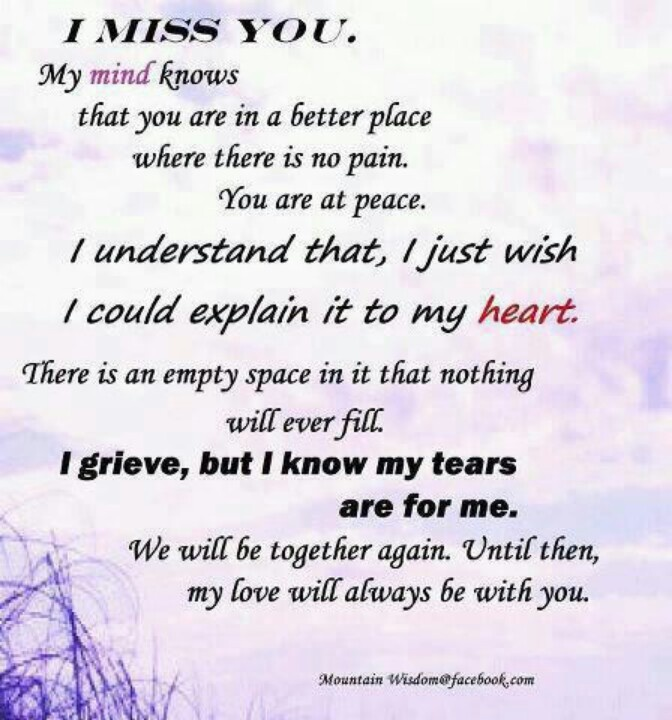 Missing My Mom In Heaven Quotes Magnificent I Miss You Mom Poems