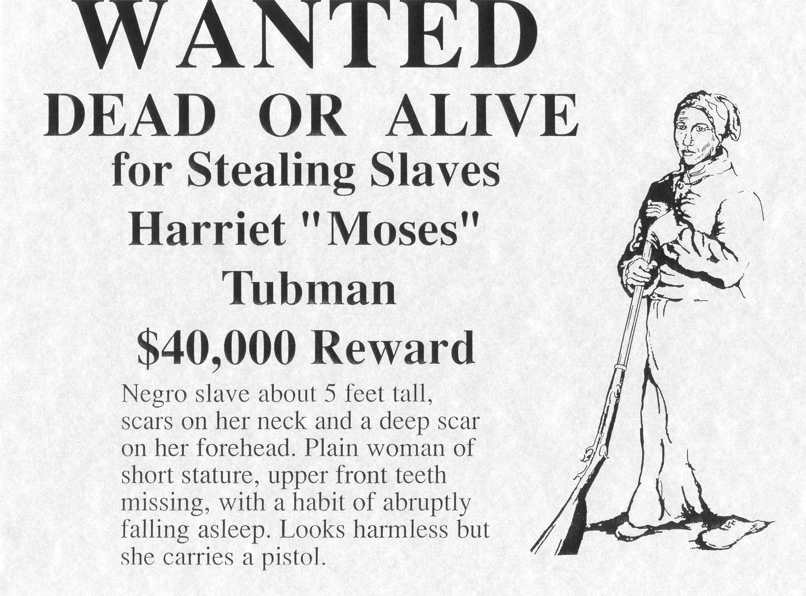 Worksheets Harriet Tubman Worksheets harriet tubman poems reward poster for d woman and underground railroad