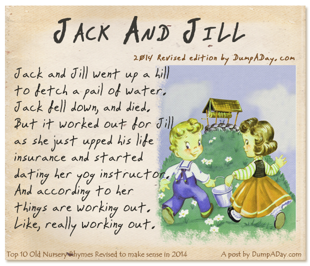 Jack and jill rhyme dirty