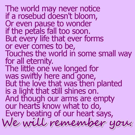 Quotes About Losing A Loved One Too Soon Awesome Baby Loss Poems