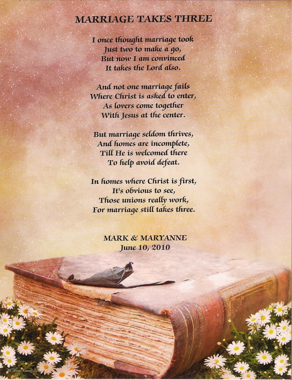 Christian Marriage Quotes Marriage Poems