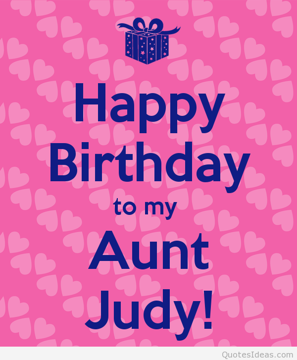 Birthday Card For My Aunt