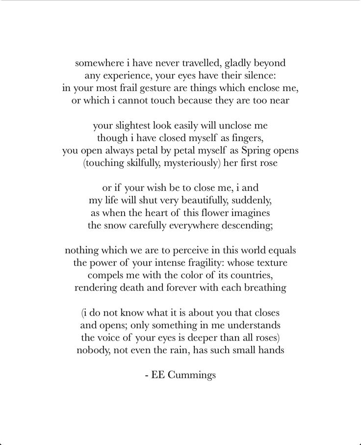 eecummings love poems poems