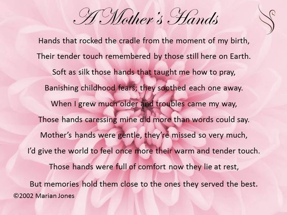 Mom funeral Poems Poems