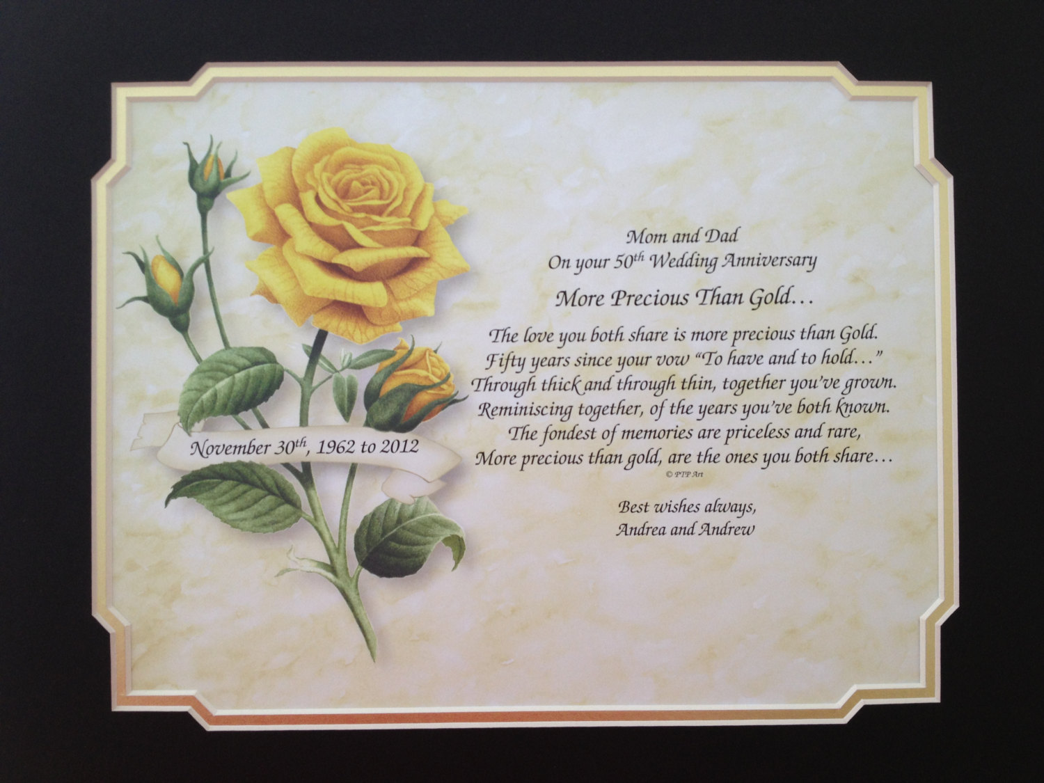 Gift Ideas For 25th Wedding Anniversary Of Pas - Gift Ideas
