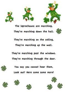 Image result for rhymes about leprechauns