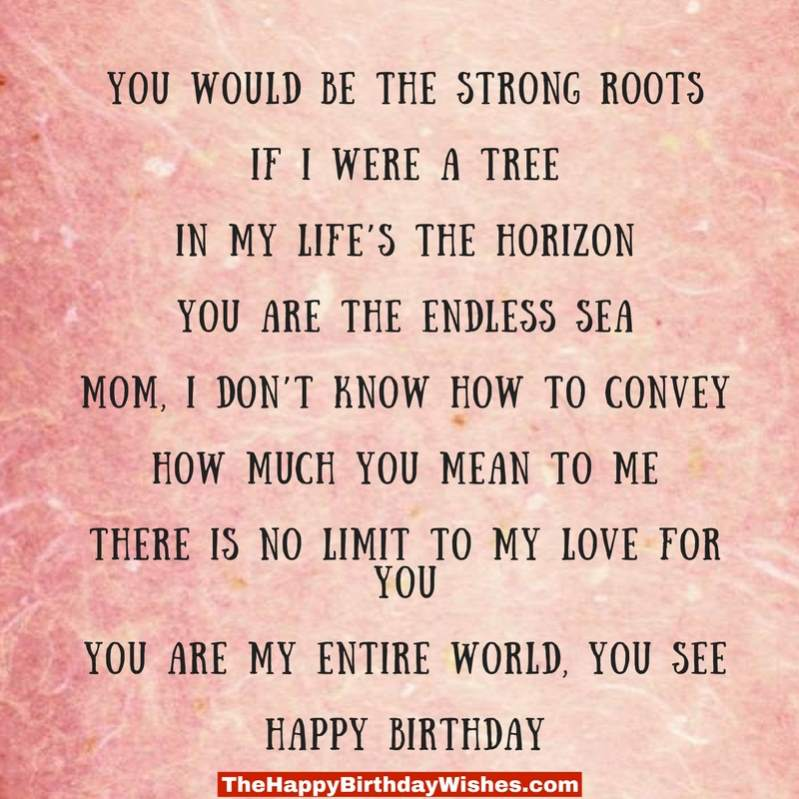 happy birthday to my son poems