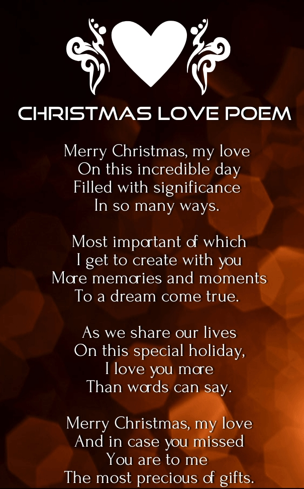 Christmas love message for her