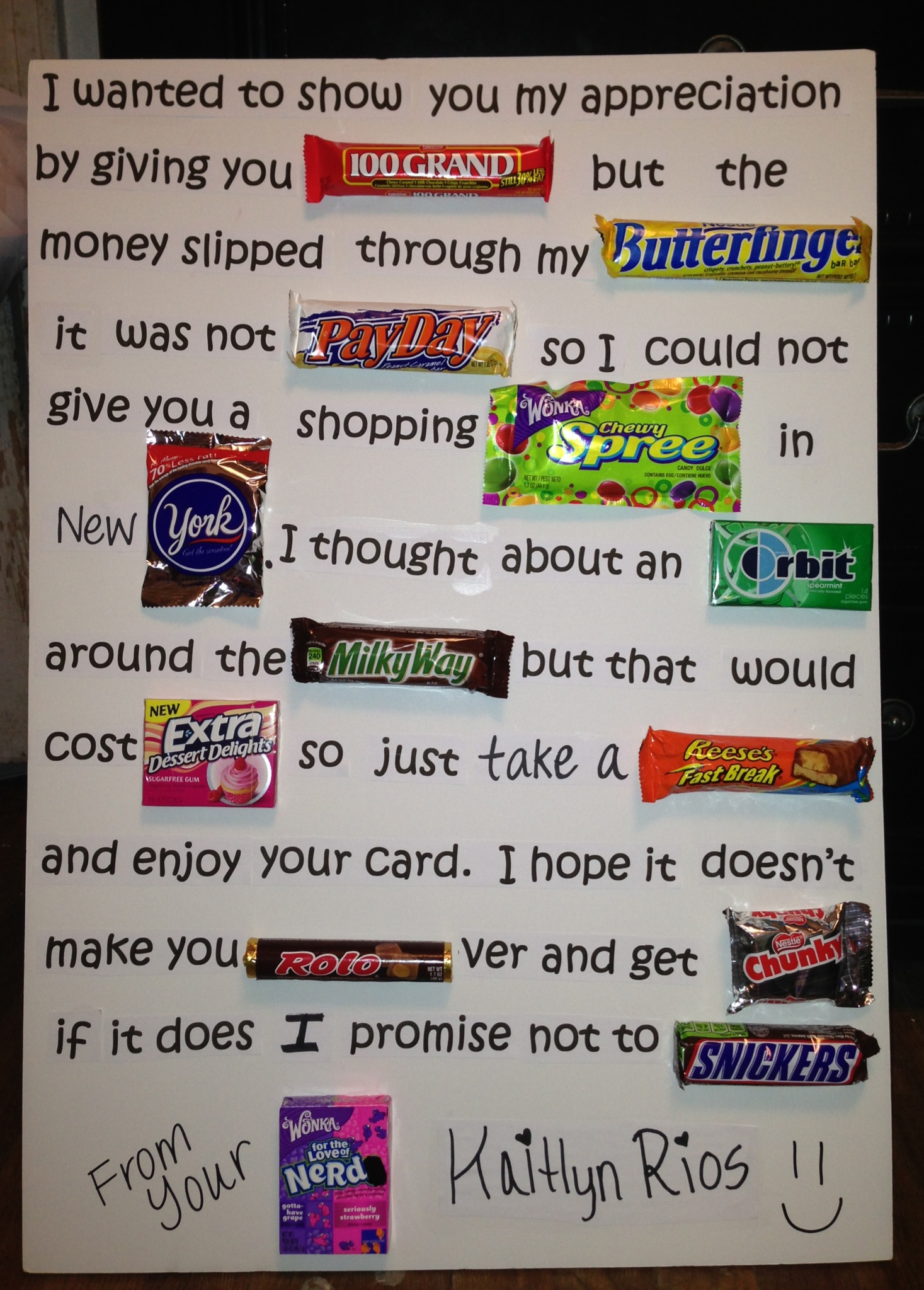 candy poems