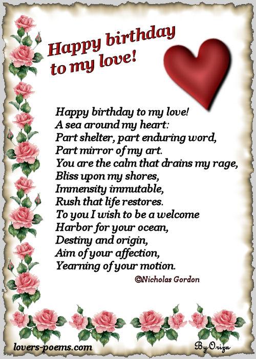 Happy Love Poems