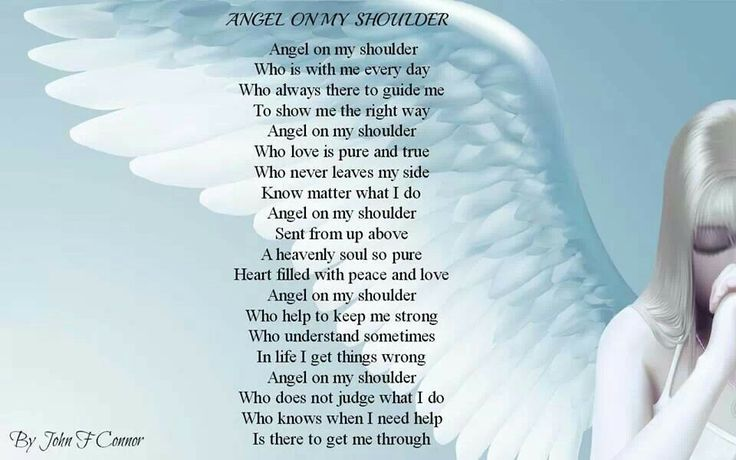 Angel Wing Poems
