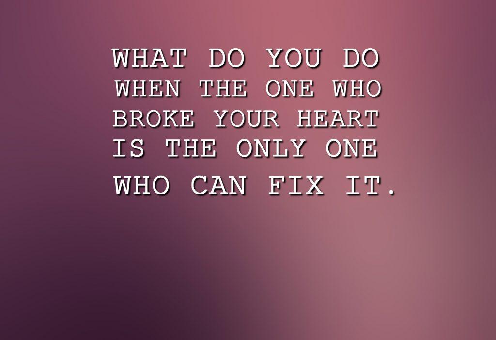 Broken Hearted Poems