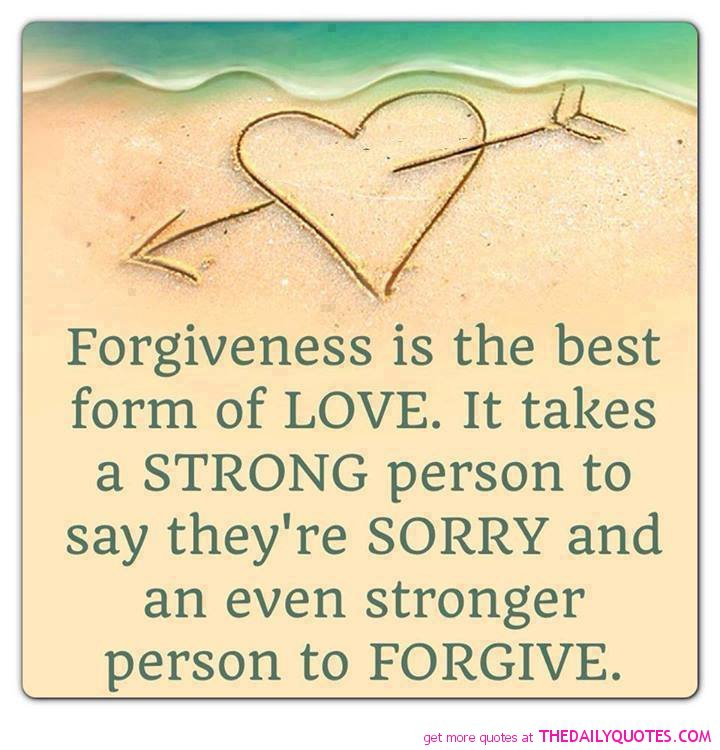 a poem of love and forgiveness