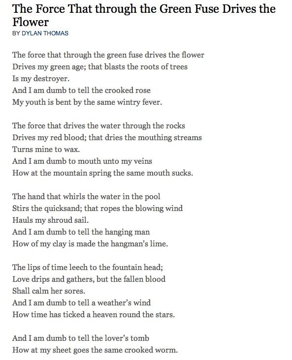 Dylan Poems