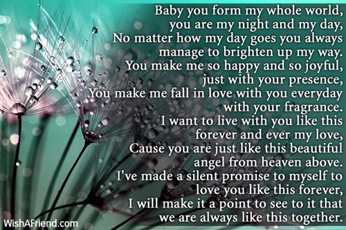 you are my everything poem