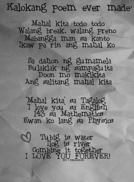 thank you letter for your friend tagalog to my best